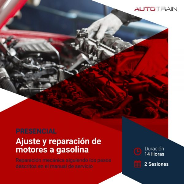 ajuste y reparación de motores a gasolina